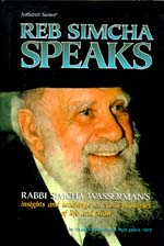 Reb Simcha Speaks Cover