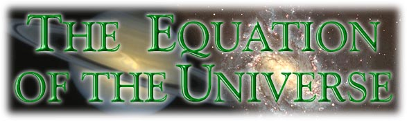 The Equation of the Universe