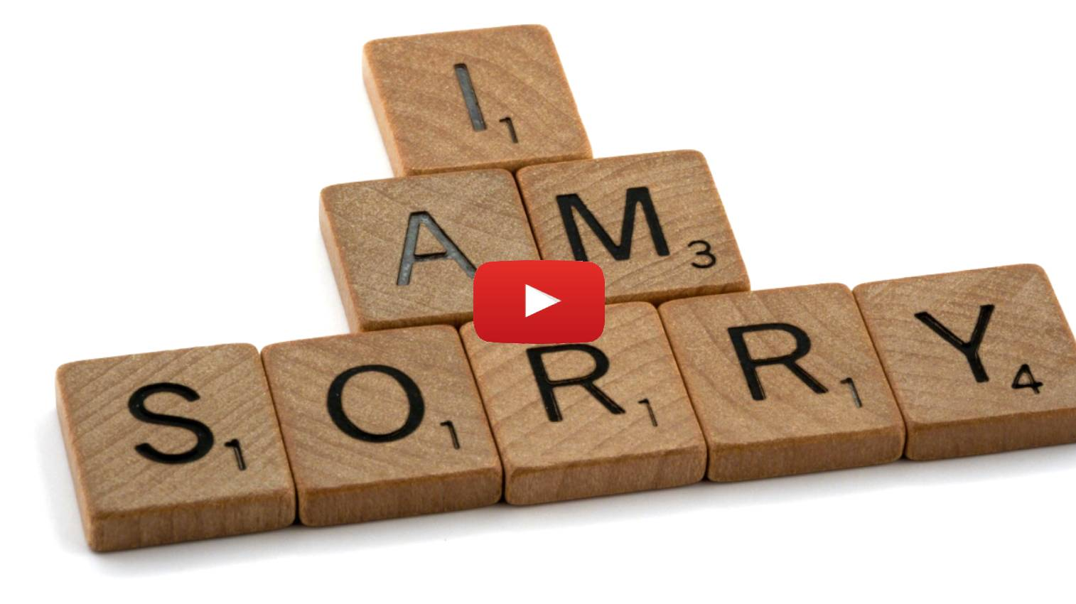 You're Right, Now Apologize: Parshat Korach